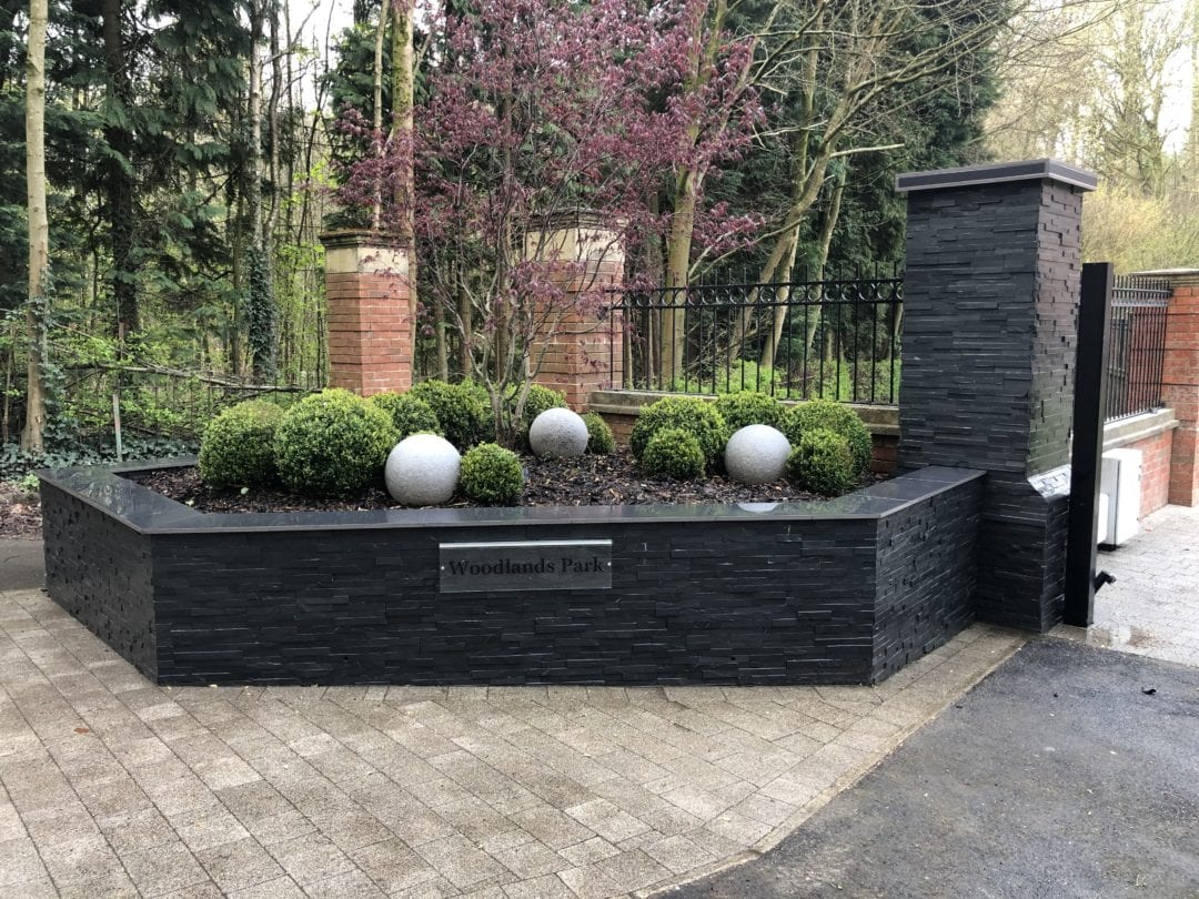 Contemporary Gated Entrance, Wigan